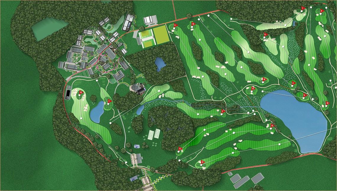 Halcyon Retreat Golf Course