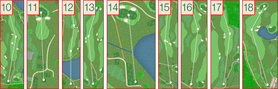 Halcyon Retreat Golf Holes 10 to 18